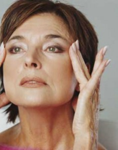 Treatment for acne during menopause.