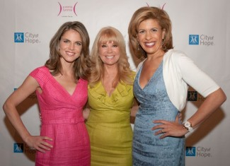 Natalie Morales, Kathy Lee and Hoda in Kay Unger