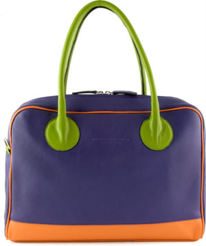 Luxury handbag by fifty-something designer Hester Van Eeghen!