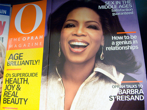 Is Oprah bored?