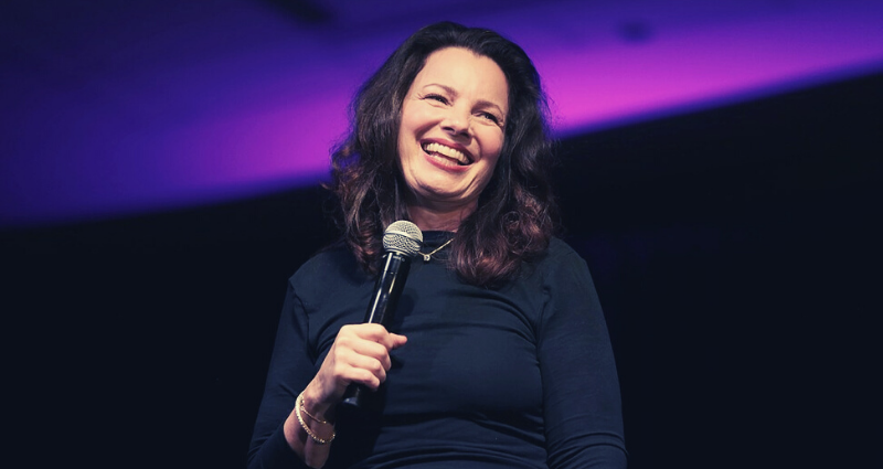 Funny Post 50 lady Fran Drescher
