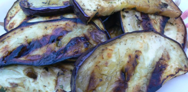 Grilled eggplant recipe