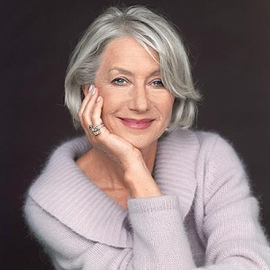 Going gray in midlife: Helen Mirren